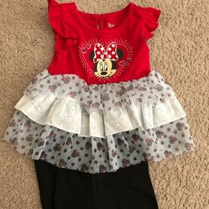 NWOT Baby Girl Outfit